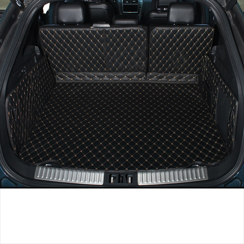 Lsrtw2017 For Lincoln Mkx Nautilus Leather Car Trunk Mat Cargo Liner 2016 2017 2018 2019 2020 Rug Carpet Accessories Luggage