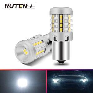 2X P21W led 1156 BA15S T20 7440 W21W lampka kierunkowskazu żarówki 3030 26SMD Auto samochód światła led CANBUS EMC 1800LM 25W 12V 6000K biały