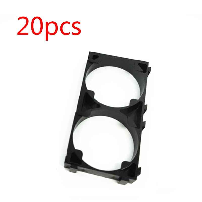 20 pièces 32650 1x2Battery support Anti Vibration cellule support pour 32650 batterie Pack
