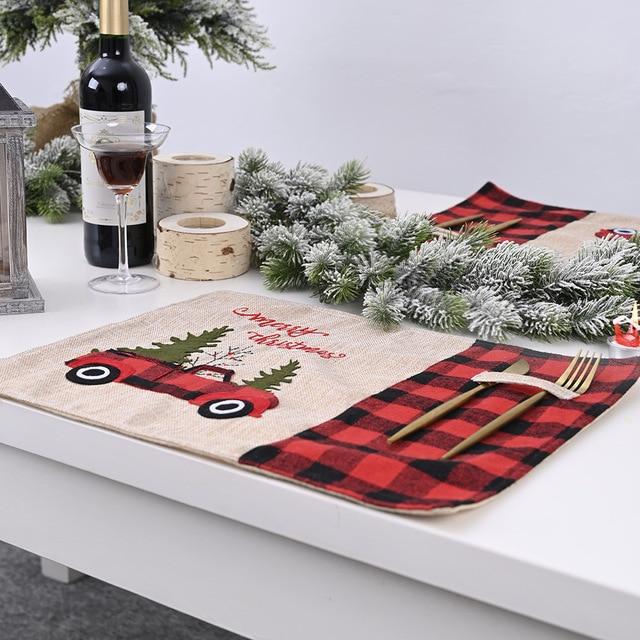 Купить праздничный рождественский декор автомобильная посуда прочная картинки цена
