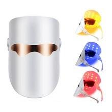 Красочные светодиодные Ламповые маски для ухода за кожей фотоновая