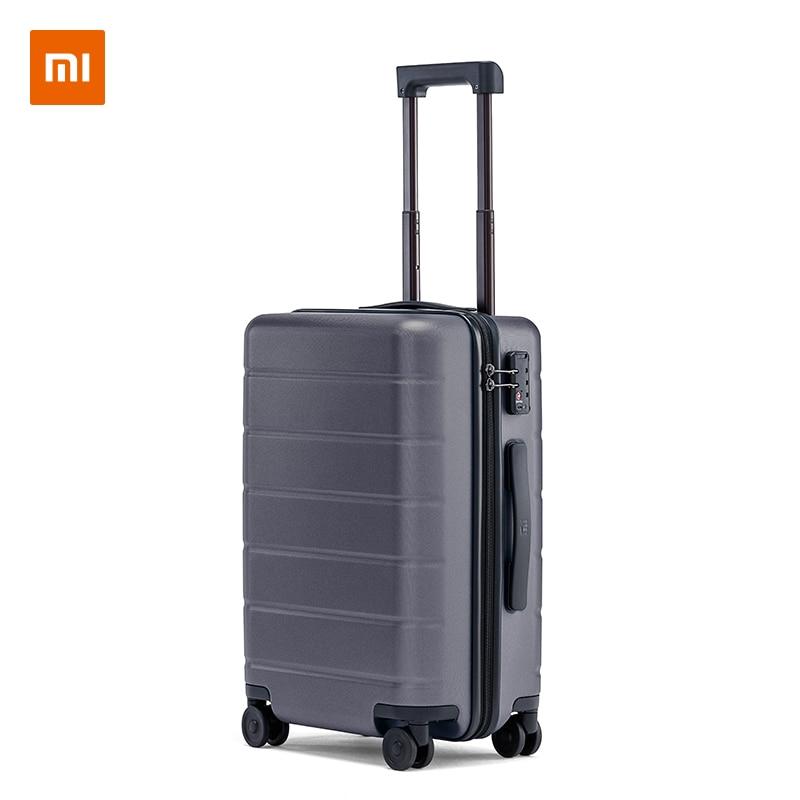 Xiaomi Luggage Classic MI Suitcase 20/24 inch Carry-On Universal Wheel TSA Lock Password Travel Business For Men Women Russia