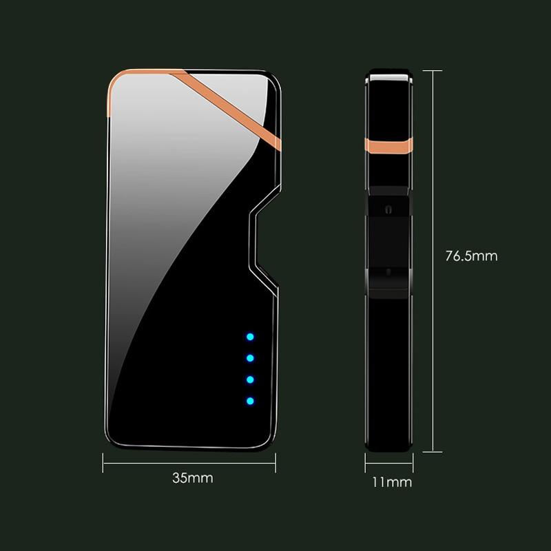 ไฟแช๊กไฟฟ้า พลาสม่า ไฟแช็กเลเซอร์ ไฟแช็คชาร์จแบต USB Electronic Plasma