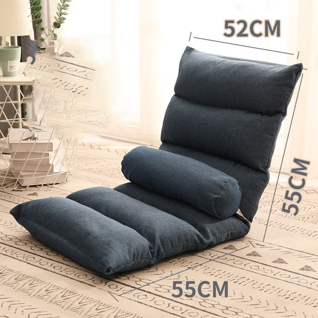 Folding chaise longue for home 6