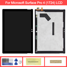 цена на Display For MicroSoft Surface Pro 4 1724 LCD Display Touch Screen Digitizer Assembly Replacement For Microsoft Pro 4 lcd screen
