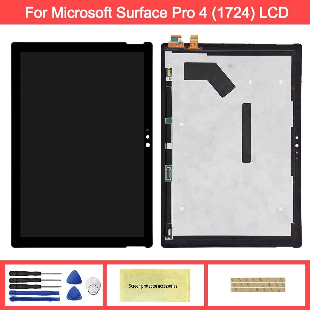 Wyświetlacz dla Microsoft surface Pro 4 1724 wyświetlacz LCD montaż digitizera ekranu dotykowego zamiennik dla ekranu lcd Microsoft Pro 4