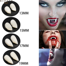 DIY Environmentally Friendly Resin Vampire Teeth Fangs Dentures Props Halloween Costume Props Party Favor Holiday DIY Decoration 1pairs 4 size vampire teeth horror halloween costume props fangs dentures props cosplay masquerade party decoration fake teeth