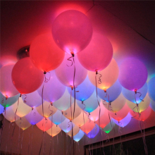 10Pc Mini LED Light Bulbs LED Lamps Balloon Lights for Holiday Birthday Party Decorations Light Home Garden Wedding Decoration