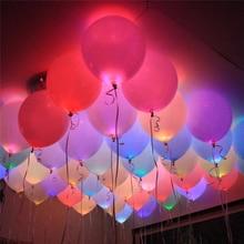 10pcミニled電球ledランプバルーン休日のための誕生日パーティーの装飾ライトホームガーデンウェディングの装飾