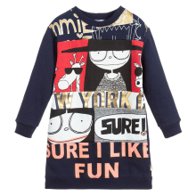 New Autumn Kids Dresses For Girls Clothing Casual Long Sleeve Cotton Princess Dress Children Clothes Baby Girl Dress