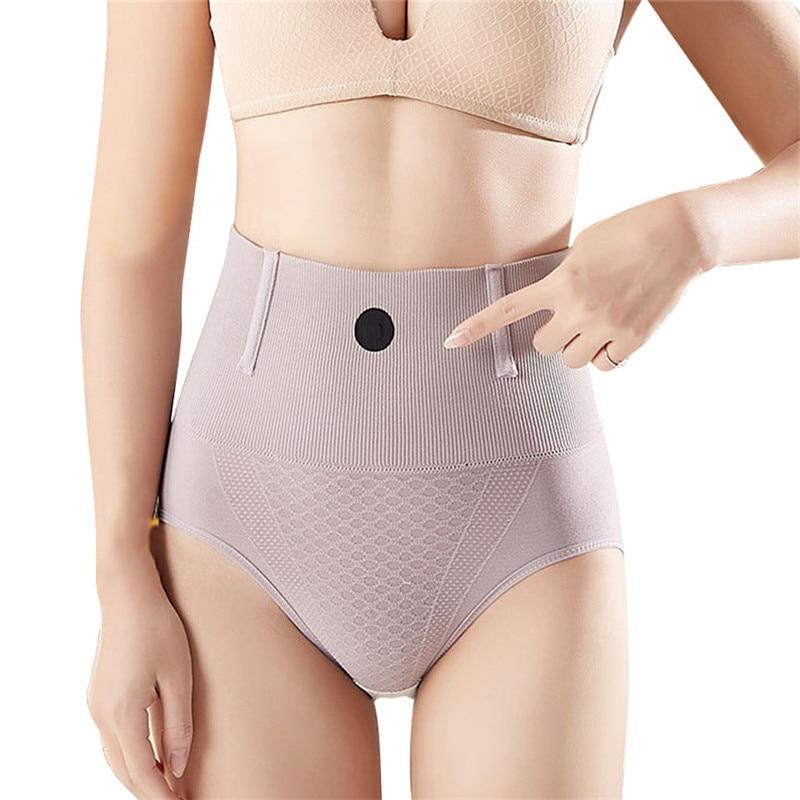 High Waist Abdomen Control Reducing Shapers Underwear Slimming Panties Women's Tummy Body Shaper Shapewear