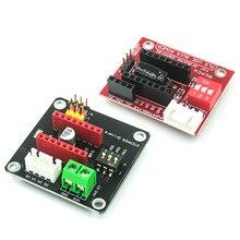 42 placa de expansão motorista motor passo drv8825 a4988 3d módulo escudo controle impressora para arduino uno r3 ramps1.4 diy kit um