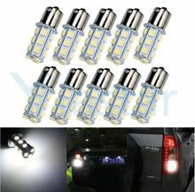 50x Качество 12 В Автомобильный светодиодный светильник p21w