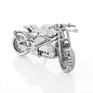 Vengeance Motorcycle Collection Puzzle 3D Metal Assembly Model 1:16 Toys Hobbies Puzzles 2018 Toys For Children Gift(China)