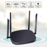 3G/4G LTE 와이파이 라우터 300Mbps 무선 4G CPE 라우터 4 5Dbi 안테나 지원 4G LAN 장치