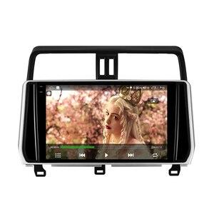 Image 5 - Android 10 Car Radio Stereo Head Unit Multimedia Carplay For Toyota Land Cruiser Prado 150 2018 2019 Support Canbus OEM Camera