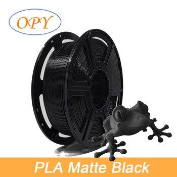Matte Pla Filament Matt 3D Printer 1.75Mm 1Kg Plastic Thread 10M 100G Sample Black Gray White Grey