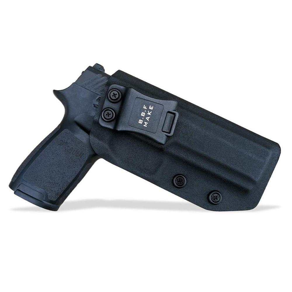 B.B.F Make IWB KYDEX Holster Fit: Sig Sauer P320 Full Gun Holster Inside Concealed Waist Carry Holsters Pistol Case