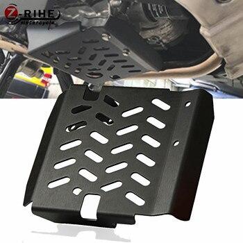 Motorcycle Accessories skid plate bash frame guard Aluminium Alloy Front Engine Shield For Honda X-Adv Xadv 2017-2018 Xadv-750