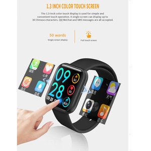 Image 5 - Lerbyee P80 Smart Watch Waterproof Heart Rate Monitor Fitness Watch Call Reminder Sport Smartwatch Sleep Monitor for iOS Android