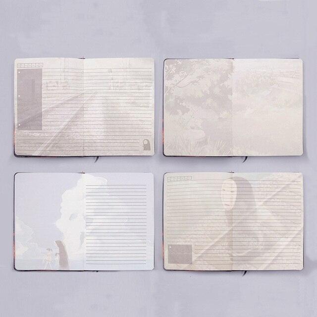 Аниме Блокнот и ручка Унесенные призраками 6