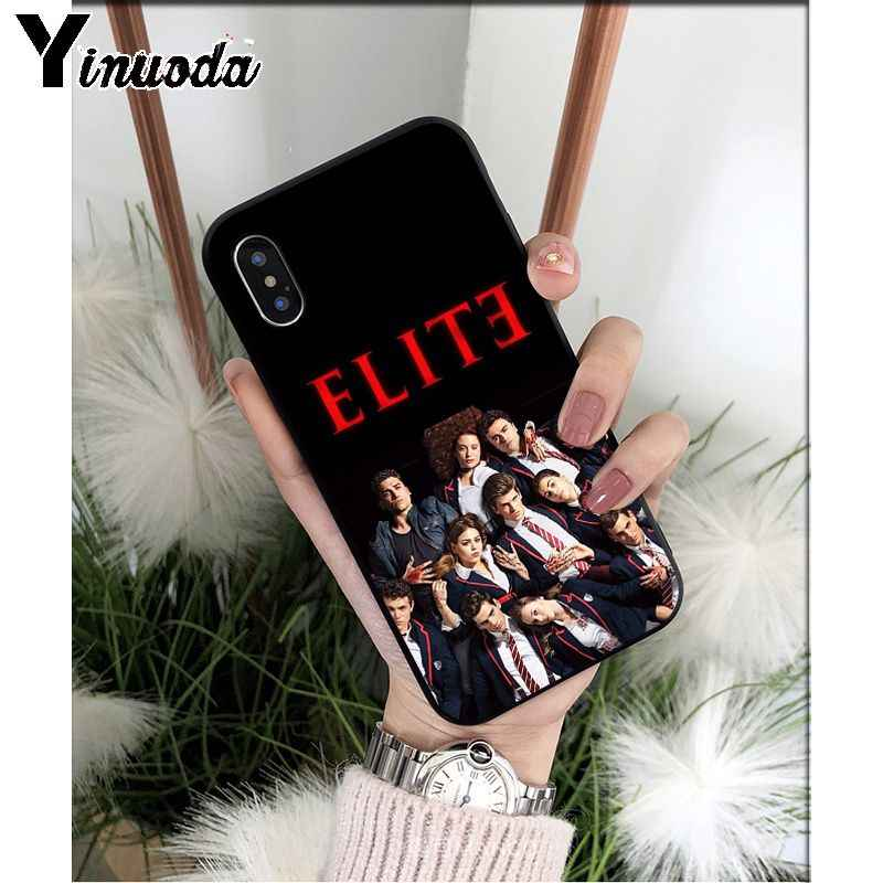 Yinuoda Spanisch TV serie Elite TPU Weichen Silikon Handy Fall für iPhone 6S 6plus 7 7plus 8 8Plus X Xs MAX 5 5S XR 11 11pro max