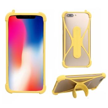 Перейти на Алиэкспресс и купить Универсальный мягкий силиконовый бампер на мобильный телефон держатель чехол для Xgody P30 чехол для Xgody X27