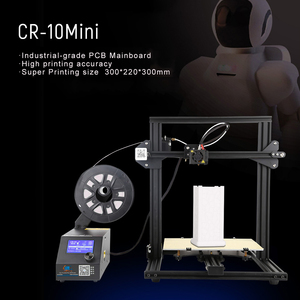 Image 4 - CR 10 DIY 3D Printer Self assemble Printing Mini High precision  Supports for Continuation Print of Power Failure