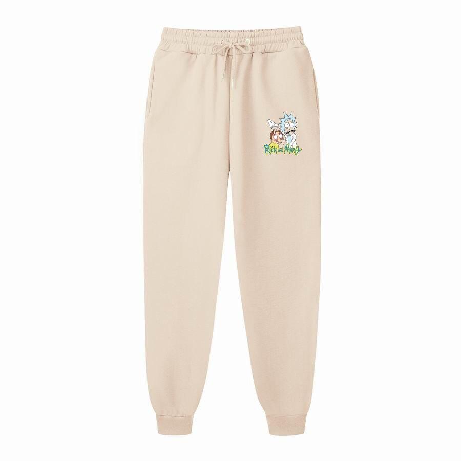 New Mens pants Printed Casual Fashion Jogger Knee Length Sweatpants Man Fitness Drawstring trousers