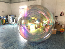Hot Sale Hanging Custom Giant Gold Inflatable Disco Ball Decorative Mirror