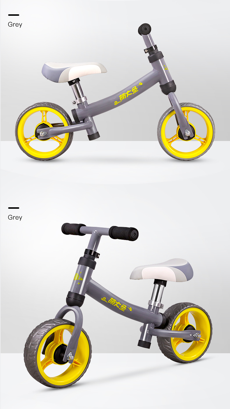 H84630314b3204fb1b0571f411c9e9071T Montasen Children  Push Bike  for 1.5- 3 Year Old Kids High Carbon Frame Balance Cycle for Boy Girls to Walk  Mini Push Bicycle