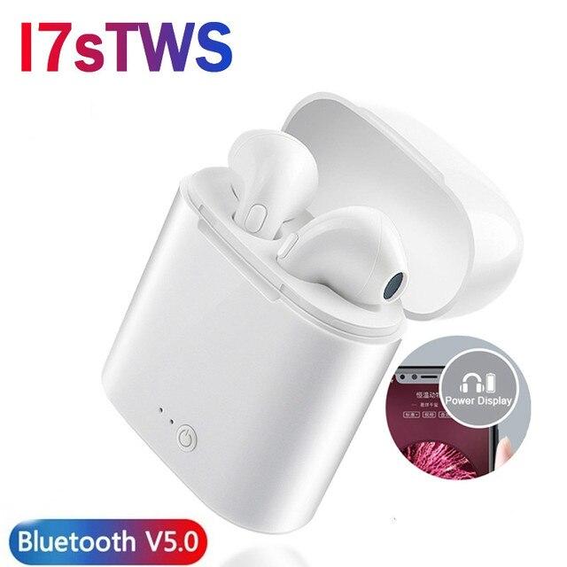 Verhux I7s Tws Draadloze In Ear Bluetooth Oortelefoon Sport Stereo Oordopjes Headset Met Opladen Doos Voor Iphone Xiaomi Huawei