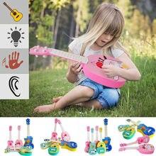 Музыкальный инструмент животное гитара инструмент укулеле дети ребенок образовательная игра игрушки школьные игры для начинающих