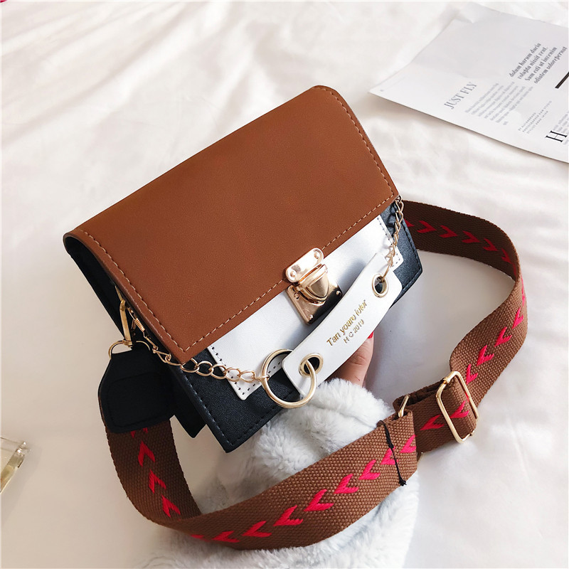 Women's Shoulder Bags Pu Leather Designer Luxury Messenger Bags Metal Buckle Crossbody Bags Purse 2020 Female Travel Handbags