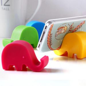 Elephant Lazy Phone Holder Stand For your Mobile Phone Accessories Fashion Mounts Plastic Desk Accessible For Cell Phone Tablet