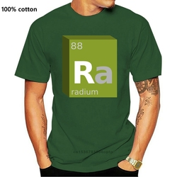 Funny Men t shirt Women novelty tshirt Radium (Ra) Block Chemistry cool T-Shirt