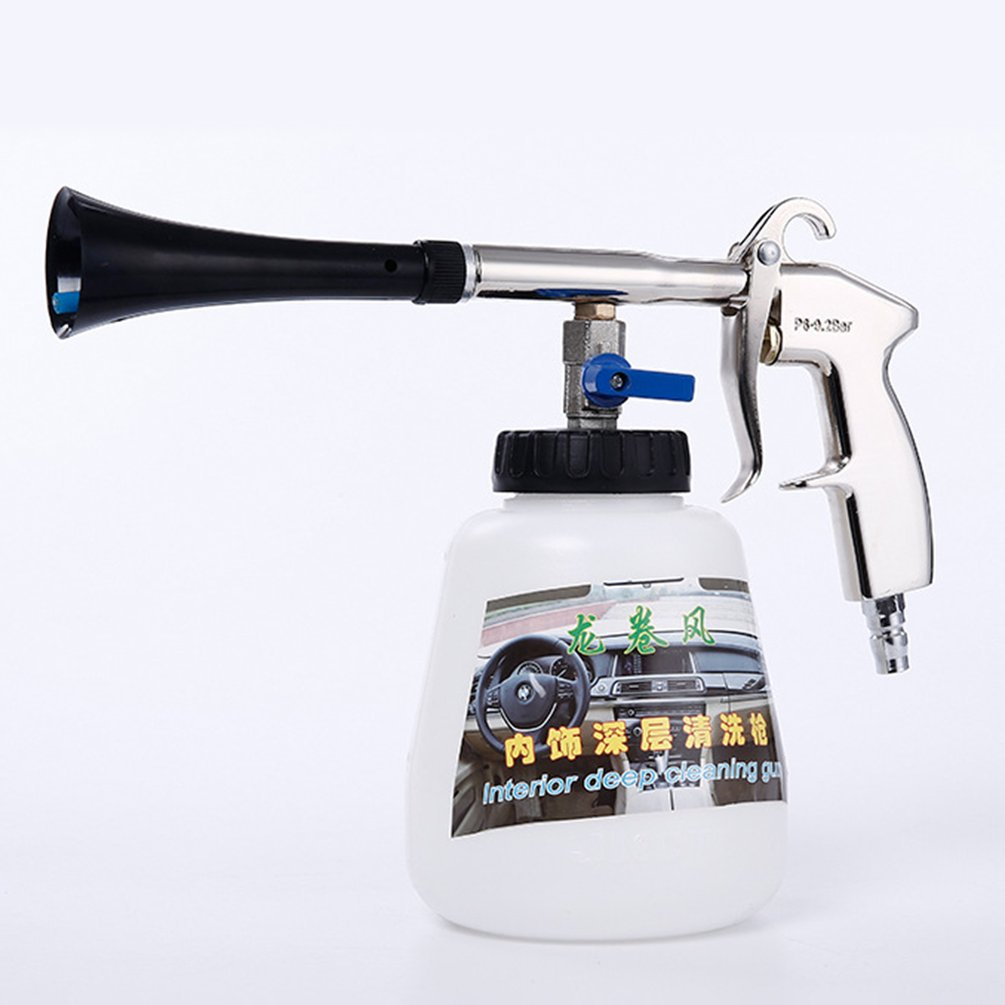 Gun Cleaning-Gun Dust-Blowing Car-Interior Tornado Handheld Roof-Dry Yard title=