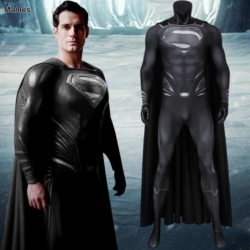 Justice League Superman Clark Kent Cosplay Costume Zentai Superhero Bodysuit Suit Jumpsuits  Uniform Halloween Carnival Costumes