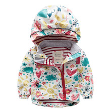Trench For Toddler Boys Girls Cartoon Jackets Spring Autumn Fashion Windproof Wi