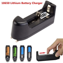 18650 Lithium Battery Charger For 3.7V 18650 16340 14500 Li-ion Rechargeable Battery Multifunction Portable Charger EU/US Plug 18650 3 7v rechargeable li ion battery eu us plug aaa aa 18650 14500 10440 universal charger for led flashlight torch headlamp