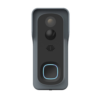 Battery Powered WiFi Video Doorbell Night Vision Motion Detection Cloud Storage Indoor Chime Wide Angle Wireless Security