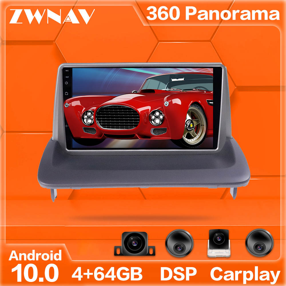 360 Cameras Android system Car Multimedia Player For VOLVO C30 S40 C70 2006-12 GPS Navi Radio stereo IPS Touch screen head unit