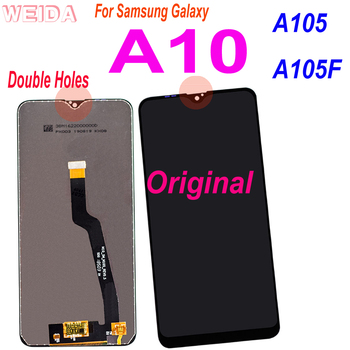 Original Super Amoled LCD For Samsung Galaxy A10 Lcd A105 A105F SM-A105F Display Touch Screen Digitizer Assembly