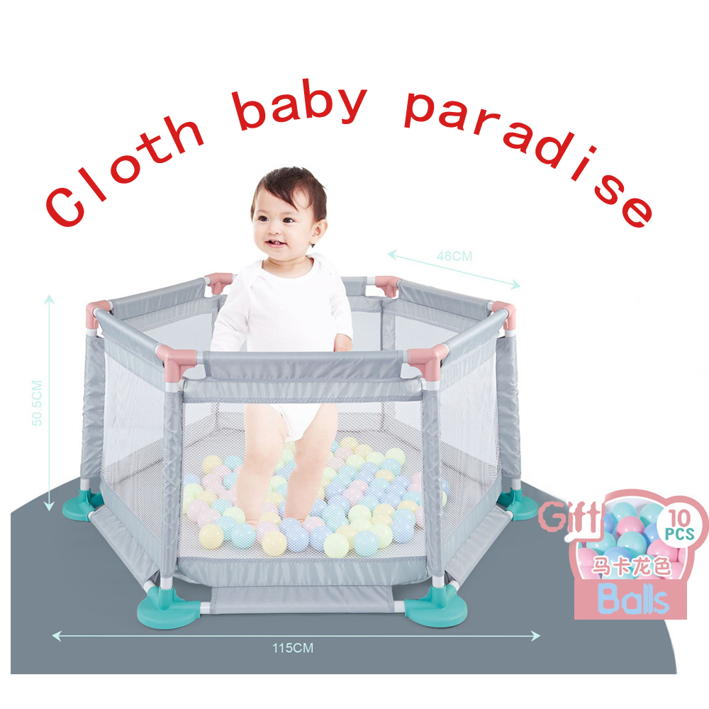 Baby Playpen Fence For Children Pool Ball Children Playpen Kids Barrier Baby Fence Safety Playpen Portable Fence For Child Trave