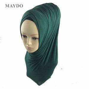 Image 2 - TJ29 1, moda, hiyab musulmán, bandana, Pashmina, mantón musulmán