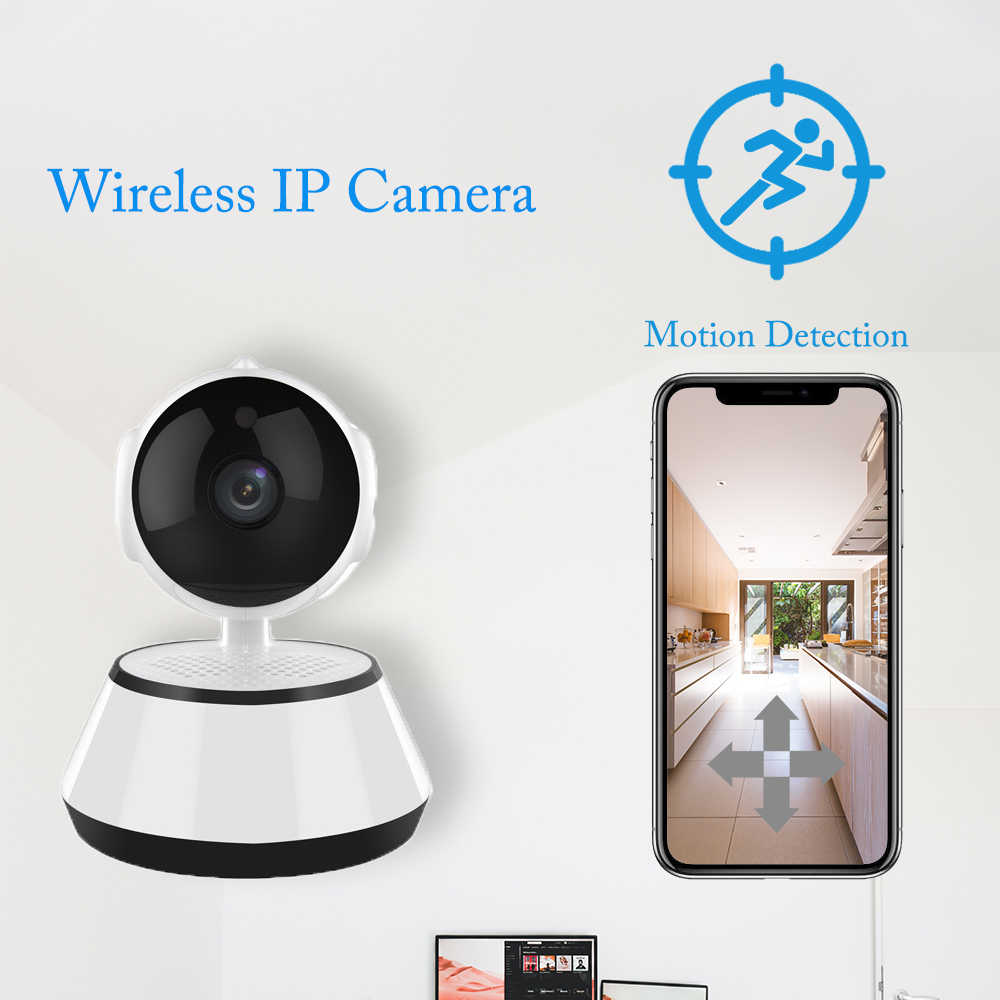 EZ4U Alarm Ip Camera Draadloze Wifi Security Camera Indoor Thuis Cctv Camera Surveillance Mini Camara Huisdier Monitor Tracking