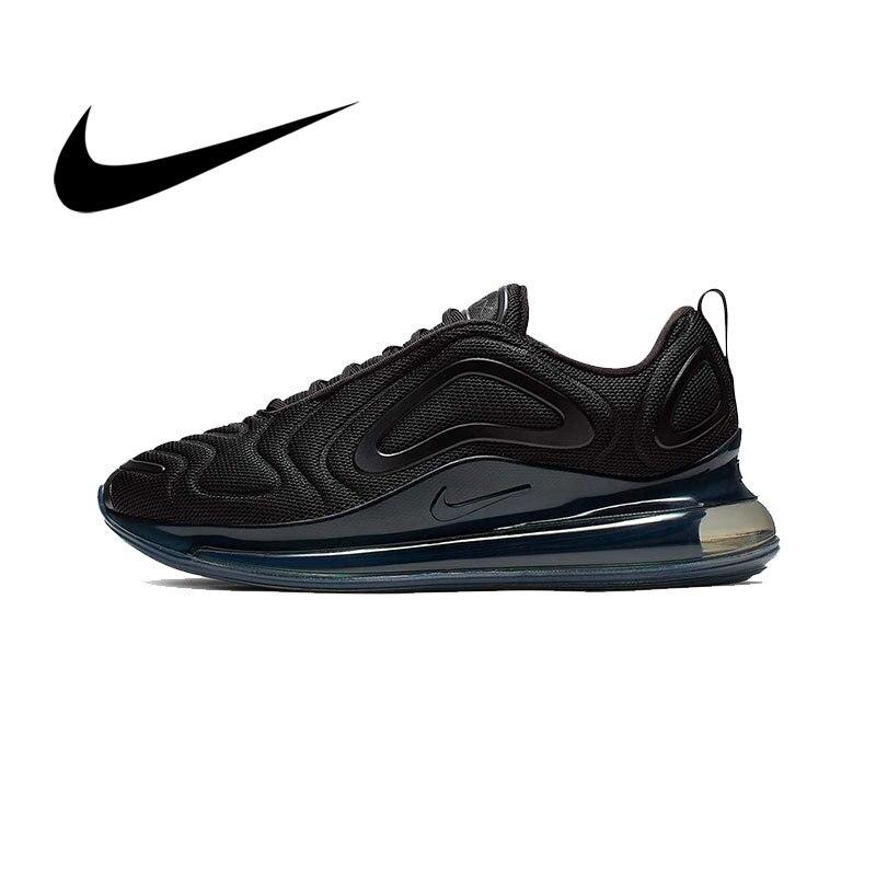 Ban Đầu Xác Thực Nike Air Max 720 Giày Thể Thao Nam Sneaker Thoáng Mát Cho Sự Thoải Mái Mới Liệt Kê Cổ Điển Thời Trang AO2924-004