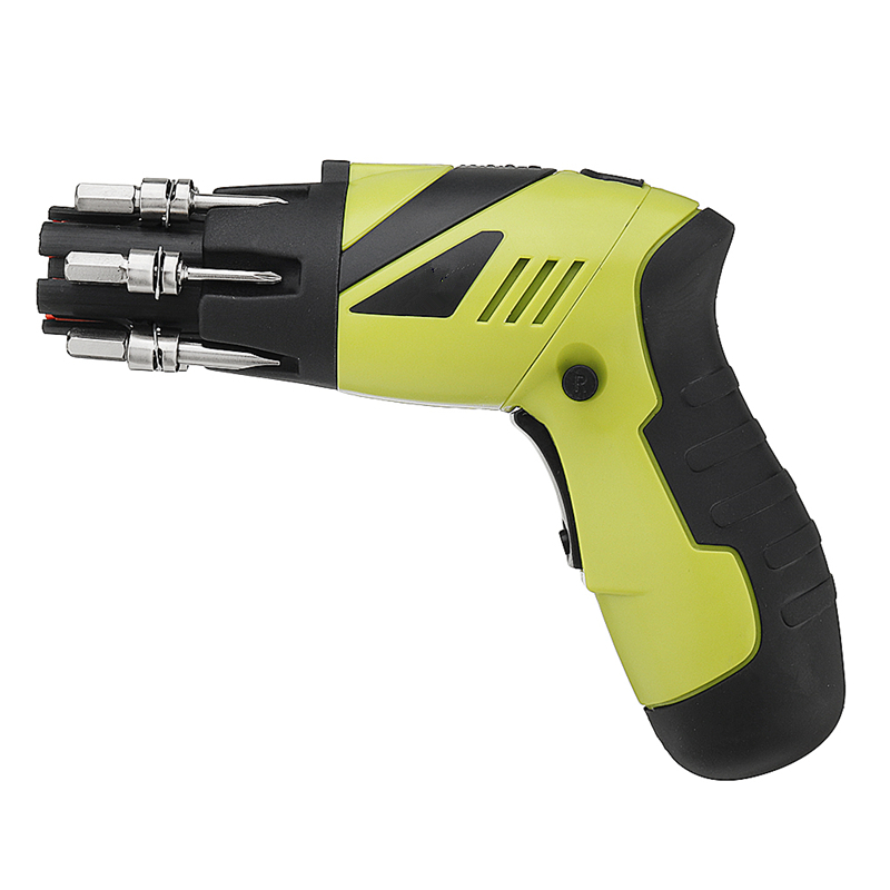 4.8V Rechargeable Cordless Electric Screwdriver Handheld Electric Power Drill Multi-function Household Outdoor Car Repair Tool