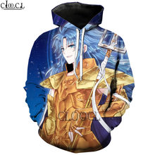 Hx fashion 3d print men women autumn hoodies hip hop anime the