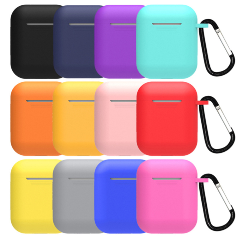 TPU Soft Silicone Case For Airpods Accessories Protector Cover Transparent Ultra Thin Cover Shockproof Holder For Apple Air Pods